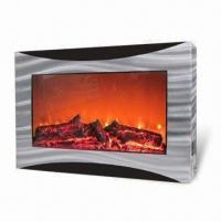 China Fashionable Electric Fireplace in Wall-mounted Style, with MP3 Player, Measures 635 x 130 x 428mm on sale