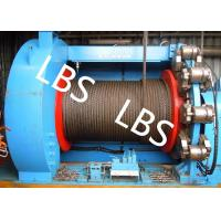 Lebus Grooves Offshore Winch Oil Well Drilling Rig Parts Winch With Brake Disc