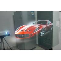 Buy cheap Self Adhesive Transparent Holographic Screen Film For Shop Window product