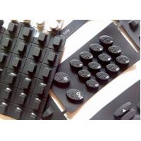 Quality High Quality Silicone Rubber Keypads with Blind Dots on Keys RK003 for sale
