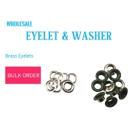 Buy cheap Eyelets & Washer Green Olive Color Wuuycoky product