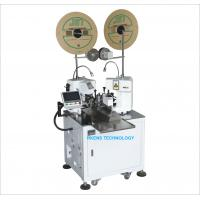Buy cheap Two End Wire Crimping Machine High Efficiency Strip And Crimp Machine product