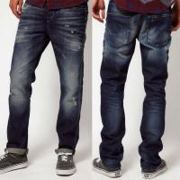 Buy cheap High hand brush new style skinny jeans for men   product