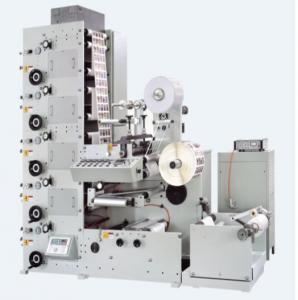China UV Plastic Label Printing Machine RY-320-6C UV Led Printing Machine RY-320-6C CD RY600-1C-B Flexo Printing and Sheet Cut on sale