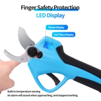 Buy cheap 16.8V 32mm Rechargeable Pruning Shears Garden Pruning Orchard Tree High Branch Lithium Electric Pruning Shears product