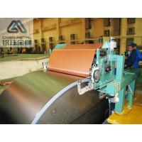Buy cheap Single Shiny  S - HTE   Red Copper Electrolytic Copper Foil For PCB ,Roll Size product