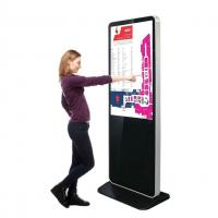 Buy cheap Shopping Mall Ad Player Standing Advertising Display , Video Retail Digital Signage from wholesalers