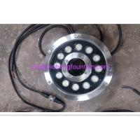 China 180mm Alu Body SS Surface Underwater Fountain Lights DMX512 Control Type 12X3W DC24V wholesale