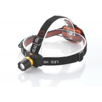 China riding / hunting Aluminum alloy head torch light , emergency head torch for cycling on sale