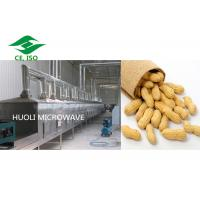 Buy cheap Stainless Steel Industrial Microwave Drying High Speed for peanut product