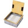 Buy cheap DCK-220/GT Brass Open type floor box from wholesalers