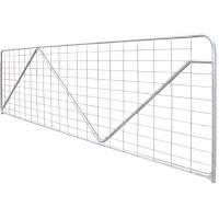 Buy cheap Square Pipe Galvanized Livestock Metal Horse Fence product