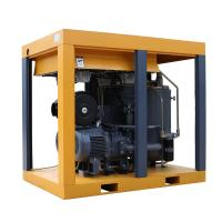 Buy cheap 100HP Large displacement two stage screw air compressor with two IPM motors product