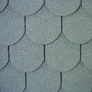 Fish-scale Type asphalt shingle