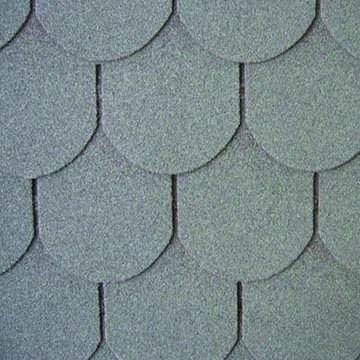 Quality Fish-scale Type asphalt shingle for sale