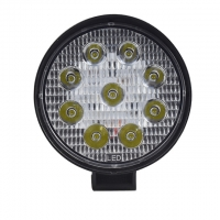 Buy cheap 60 Degree 27W Round Flood Waterproof LED Work Lights product