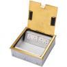Buy cheap DCK-220/GC Brass Open type floor box from wholesalers