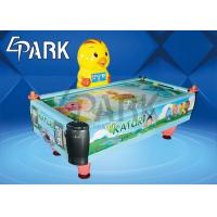 Buy cheap FRP Glass Fiber Reinforced Plastics Chicken Air Hockey Table Coin Operated Sports Machine product