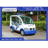 Buy cheap 8~10h Recharge Electric Club Car / DC Motor 48Volt 4 Seater Golf Buggy With Toplight product