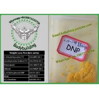 Buy cheap Fat Loss Raw Powder 2, 4-Dinitrophenol /DNP For Weight Loss CAS:1011-73-0 product