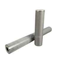 Buy cheap Backwash 70mm 50 80 125 Micron Sintered Stainless Steel Filter product