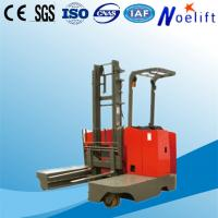 China AC brushless motor side loading battery reach pallet truck for export on sale
