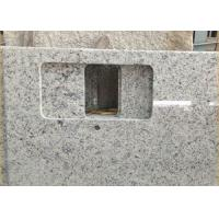 Buy cheap Giallo Sf Real Solid Granite Worktops For Kitchen / Bathroom White Color product