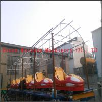 Buy cheap kiddie car games outdoor funfair playground sliding dragon roller coaster rides without motor product