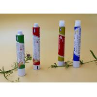 China Round Aluminum Collapsible Tubes,  Recyclable Toothpaste Tube Packaging wholesale