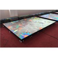 Buy cheap Full Color LED Video Dancing Floor, P6.25 Portable Interactive LED Display for from wholesalers