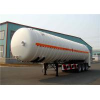 Buy cheap 3 Axles 35000 to 50000 Liters Oil Transport petrol tank trailer / fuel tank semi trailer product