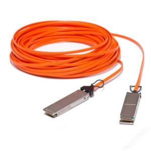 Buy cheap cabo óptico ativo do direto-anexo de 40GBase AOC QSFP+, 50 medidores product