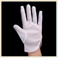 China Anti-static Polyester Gloves PVC Dotted Gloves on sale