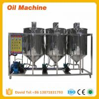 Buy cheap high quality small scale cooking oil refinery machine Small Capacity Edible Oil Refinery product