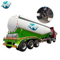 Buy cheap Tri axle Bulk cement tanker semi trailer for powder transportation product