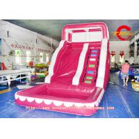 China Backyard Inflatable Water Slides for kids , inflatable water park on sale