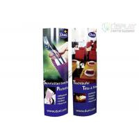 Buy cheap Recyclable POP Cardboard Totem Display Rack For Food Promotion product