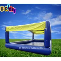 Outdoor inflatable swimming pools blue color custom square inflatable pool 104364339 Square swimming pools for sale