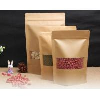 Buy cheap Resealable Kraft Paper Bags With Window from wholesalers