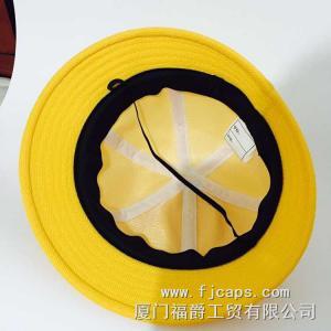 Buy cheap 【FUJUE】mesh caps,school hats for kids,yellow children hat , bucket hats product