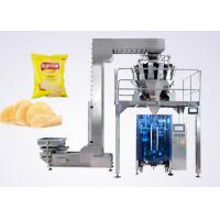 Buy cheap Puffed Food VFFS Packaging Machine for Potato Chips with Electronic Multi-head Weigher product