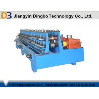 Buy cheap Low Noise Door Frame Roll Forming Machine , Metal Rolling Equipment With ISO Certification from wholesalers