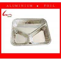 Quality 3 Compartment Foil Food Container/Tary/Plate/Pan for sale