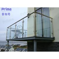 Buy cheap Customized Stainless Steel Post Glass Panel Balcony Railing product