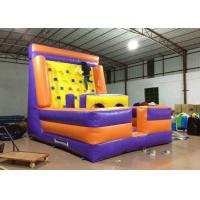 Buy cheap Inflatable Water Climbing Wall / Tower , Funny Attractive Blow Up Climbing Wall product