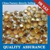 Buy cheap Bulk wholesale light topaz iron on rhinestud, hot fix rhinstud for garment, hot from wholesalers