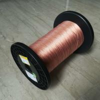 Buy cheap 5600v Taped Self Bonding Wire , 0.05 X 120 High Frequency Flat Litz Wire product
