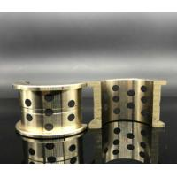 China Embedded Copper Graphite Sleeve Bearings Wear Resistance For Auto Parts on sale