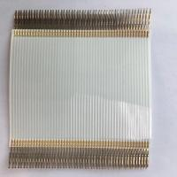 Buy cheap Terminal Crimping Flexible Flat Cable , 1.27 Mm Pitch Ribbon Cable With TE Connector product