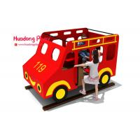Buy cheap Toddler HDPE  Playground Bus Style Engineering Plastics High Strength Long Life Span product